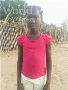Choose a child to sponsor, like this little girl from Loul, Dieynaba age 10