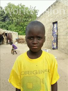 Choose a child to sponsor, like this little boy from Loul, Assane age 9