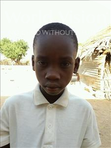 Choose a child to sponsor, like this little boy from Loul, Diegane age 8