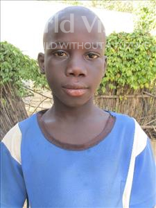 Choose a child to sponsor, like this little boy from Loul, Modou age 10
