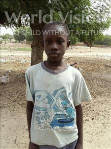 Choose a child to sponsor, like this little boy from Loul, Ablaye age 11