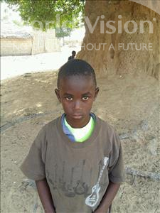 Choose a child to sponsor, like this little boy from Loul, Moustapha Midia age 7