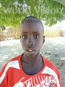 Choose a child to sponsor, like this little boy from Loul, Ousmane Awa age 9