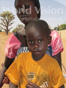 Choose a child to sponsor, like this little boy from Loul, Birame age 5