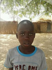 Choose a child to sponsor, like this little boy from Loul, Joseph age 8