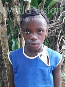 Choose a child to sponsor, like this little girl from Jong, Hawa age 10