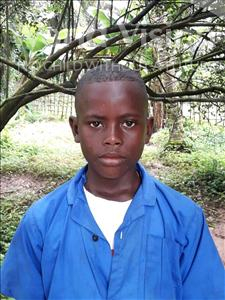 Choose a child to sponsor, like this little boy from Jong, Solomon age 11