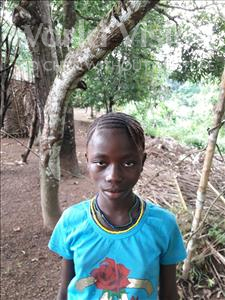 Choose a child to sponsor, like this little girl from Jong, Hannah age 10