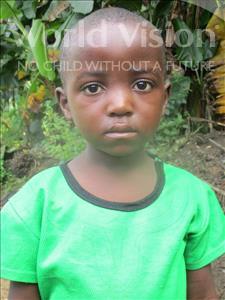 Choose a child to sponsor, like this little boy from Jong, Sheku age 5