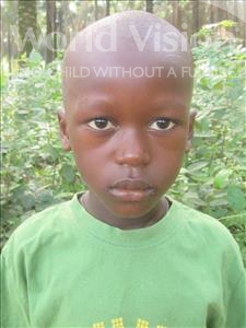 Choose a child to sponsor, like this little boy from Jong, Mustapha age 7