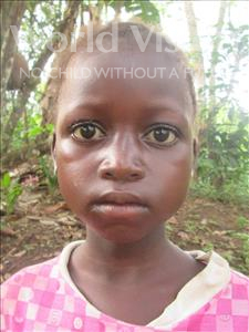 Choose a child to sponsor, like this little girl from Jong, Betty age 8