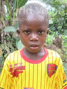 Choose a child to sponsor, like this little boy from Jong, Amara age 7