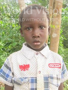 Choose a child to sponsor, like this little boy from Jong, Ishmela age 6