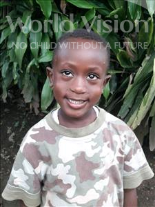 Abubakarr, aged 4, from Sierra Leone, is hoping for a World Vision sponsor