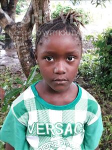 Mamie, aged 6, from Sierra Leone, is hoping for a World Vision sponsor