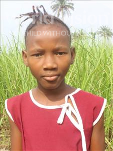 Choose a child to sponsor, like this little girl from Tegloma, Abi Kona age 13
