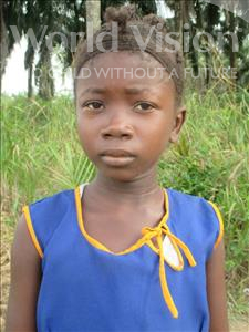 Choose a child to sponsor, like this little girl from Tegloma, Mamie age 13