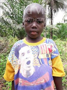 Choose a child to sponsor, like this little boy from Tegloma, Abu age 6