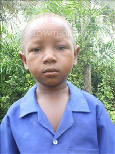 Choose a child to sponsor, like this little boy from Tegloma, Alex age 7
