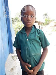 Choose a child to sponsor, like this little boy from Tegloma, Bobson age 7