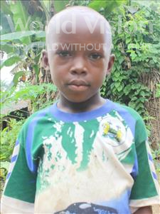 Choose a child to sponsor, like this little boy from Tegloma, Saidu Lavalie age 7