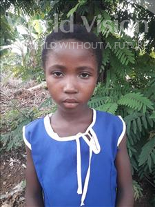 Choose a child to sponsor, like this little girl from Tegloma, Mariama age 8
