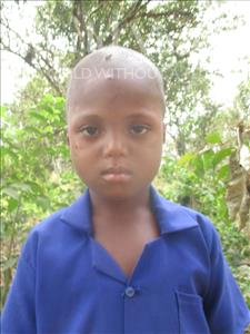 Choose a child to sponsor, like this little boy from Tegloma, Ibrahim age 6