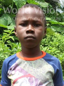 Choose a child to sponsor, like this little boy from Tegloma, Joseph age 7