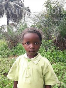 Choose a child to sponsor, like this little girl from Tegloma, Mattu Zainab age 5