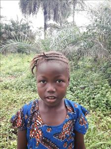 Choose a child to sponsor, like this little girl from Tegloma, Hannah age 8