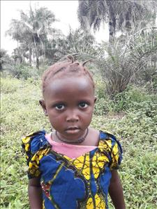 Choose a child to sponsor, like this little girl from Tegloma, Mamie age 3