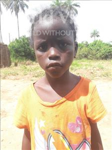 Choose a child to sponsor, like this little girl from Tegloma, Mbalu age 7
