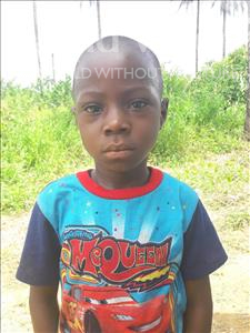 Choose a child to sponsor, like this little boy from Tegloma, Emmanuel age 6
