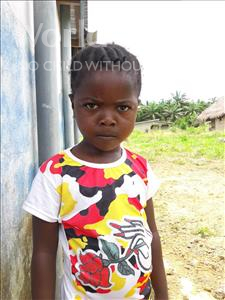 Choose a child to sponsor, like this little girl from Tegloma, Agnes age 4
