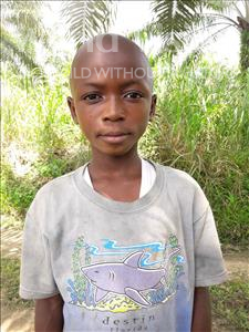 Choose a child to sponsor, like this little boy from Tegloma, Jusu age 10