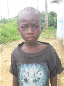 Choose a child to sponsor, like this little boy from Tegloma, Morie age 6