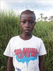 Choose a child to sponsor, like this little girl from Tegloma, Umu H age 9