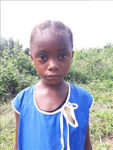 Choose a child to sponsor, like this little girl from Tegloma, Nematu age 6