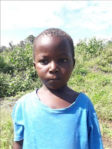 Choose a child to sponsor, like this little boy from Tegloma, Moriba age 4