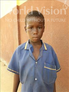 Choose a child to sponsor, like this little boy from Jaiama Bongor, Duada age 9