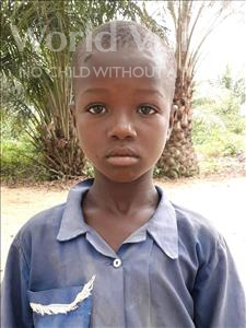 Choose a child to sponsor, like this little boy from Jaiama Bongor, Lamin age 9