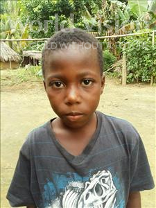 Choose a child to sponsor, like this little boy from Jaiama Bongor, Melty age 9