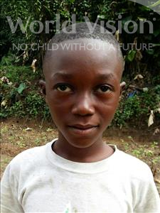 Choose a child to sponsor, like this little boy from Jaiama Bongor, Abdul Aziz age 11