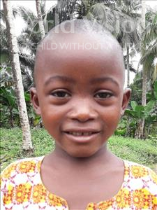 Choose a child to sponsor, like this little boy from Jaiama Bongor, Sheku Abu age 3