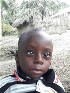 Lahai, aged 1, from Sierra Leone, is hoping for a World Vision sponsor