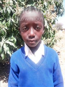 Choose a child to sponsor, like this little boy from Kilimatinde, George Andrea age 10
