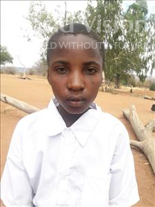 Choose a child to sponsor, like this little girl from Kilimatinde, Ester Sostenes age 11