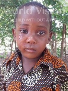 Choose a child to sponsor, like this little boy from Kilimatinde, Maliki Vicent age 6