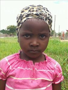 Choose a child to sponsor, like this little girl from Kilimatinde, Amina Yusuph age 7