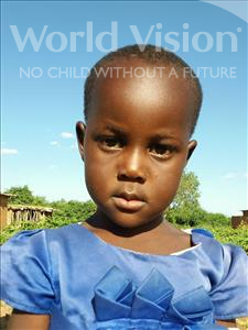 Choose a child to sponsor, like this little girl from Kilimatinde, Lucia Paulo age 5